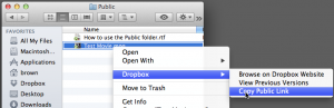Dropbox Sharable Link